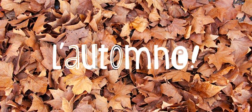 Un sniff d'automne !